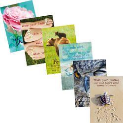 Weisheits-Postkarten-Set Hochformat von Zintenz