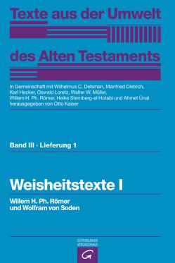 Weisheitstexte I von Kaiser,  Otto, Römer,  Willem H. Ph., Soden,  Wolfram von