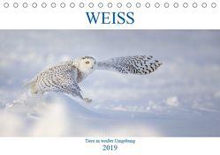 WEISS (Tischkalender 2019 DIN A5 quer) von Vollborn,  Marion