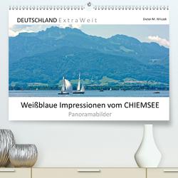 Weißblaue Impressionen vom CHIEMSEE Panoramabilder (Premium, hochwertiger DIN A2 Wandkalender 2020, Kunstdruck in Hochglanz) von Wilczek,  Dieter-M.