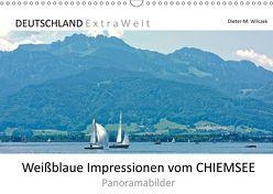 Weißblaue Impressionen vom CHIEMSEE Panoramabilder (Wandkalender 2019 DIN A3 quer) von Wilczek,  Dieter-M.