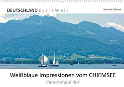 Weißblaue Impressionen vom CHIEMSEE Panoramabilder (Wandkalender 2020 DIN A2 quer) von Wilczek,  Dieter-M.