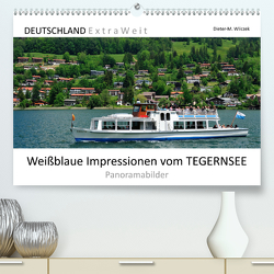 Weißblaue Impressionen vom TEGERNSEE Panoramabilder (Premium, hochwertiger DIN A2 Wandkalender 2020, Kunstdruck in Hochglanz) von Wilczek,  Dieter-M.
