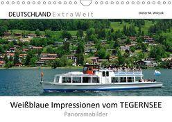 Weißblaue Impressionen vom TEGERNSEE Panoramabilder (Wandkalender 2019 DIN A4 quer) von Wilczek,  Dieter-M.