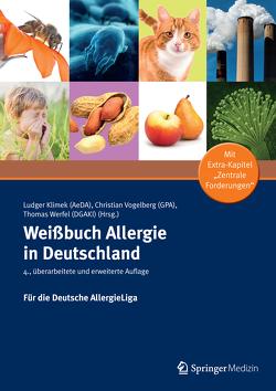 Weißbuch Allergie in Deutschland von Klimek,  Ludger, Vogelberg,  Christian, Werfel,  Thomas