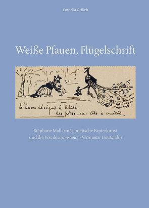 Weiße Pfauen, Flügelschrift von Ortlieb,  Cornelia