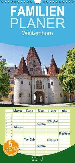Weißenhorn – Familienplaner hoch (Wandkalender 2019 , 21 cm x 45 cm, hoch) von kattobello