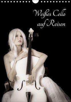 Weißes Cello auf Reisen (Wandkalender 2019 DIN A4 hoch) von Art,  Ravienne