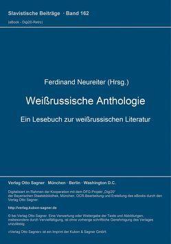 Weißrussische Anthologie von Neureiter,  Ferdinand
