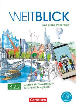 Weitblick / B2: Band 2 – Kurs- und Übungsbuch von Böschel,  Claudia, Lazarou,  Elisabeth, Magersuppe,  Jens, Scheliga,  Matthias, Würz,  Ulrike