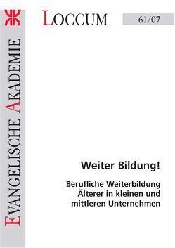 Weiter Bildung! von Bizer,  Kilian, Lange,  Joachim, Sesselmeier,  Werner