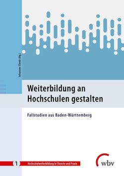 Weiterbildung an Hochschulen gestalten von Klenk,  Johannes