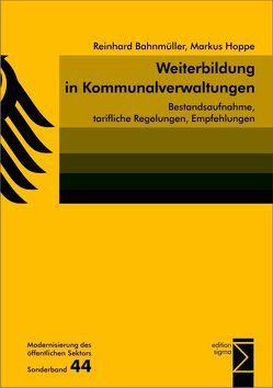 Weiterbildung in Kommunalverwaltungen von Bahnmüller,  Reinhard, Hoppe,  Markus