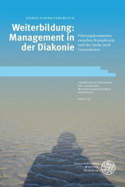 Weiterbildung: Management in der Diakonie von Goder-Fahlbusch,  Sigrid