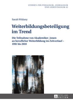 Weiterbildungsbeteiligung im Trend von Widany,  Sarah