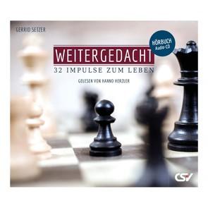 Weitergedacht (Hörbuch-CD) von Herzler,  Hanno, Setzer,  Gerrid