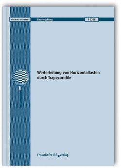 Weiterleitung von Horizontallasten durch Trapezprofile. von Misiek,  Thomas