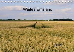 Weites Emsland (Tischkalender 2019 DIN A5 quer) von Wösten,  Heinz