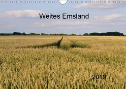 Weites Emsland (Wandkalender 2019 DIN A4 quer) von Wösten,  Heinz