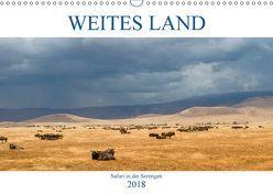 Weites Land – Safari in der Serengeti (Wandkalender 2018 DIN A3 quer) von Schulz,  Oliver