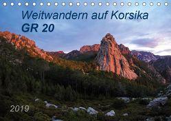 Weitwandern auf Korsika GR 20 (Tischkalender 2019 DIN A5 quer) von Vogel,  Carmen