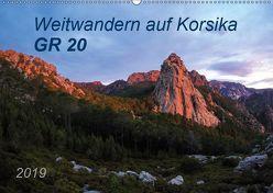 Weitwandern auf Korsika GR 20 (Wandkalender 2019 DIN A2 quer) von Vogel,  Carmen