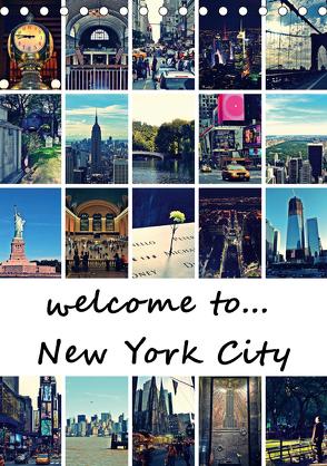 welcome to New York City (Tischkalender 2020 DIN A5 hoch) von Büttner,  Stephanie