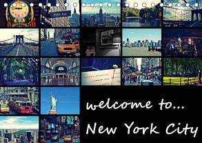 welcome to New York City (Tischkalender 2020 DIN A5 quer) von Büttner,  Stephanie
