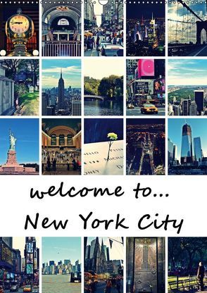 welcome to New York City (Wandkalender 2019 DIN A2 hoch) von Büttner,  Stephanie