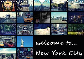 welcome to New York City (Wandkalender 2019 DIN A4 quer) von Büttner,  Stephanie