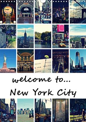 welcome to New York City (Wandkalender 2020 DIN A3 hoch) von Büttner,  Stephanie