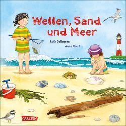 Wellen, Sand und Meer von Ebert,  Anne, Gellersen,  Ruth