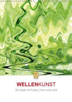 WELLENKUNST (Wandkalender 2019 DIN A3 hoch)