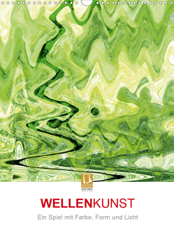 WELLENKUNST (Wandkalender 2020 DIN A3 hoch) von Eichler,  Sandra
