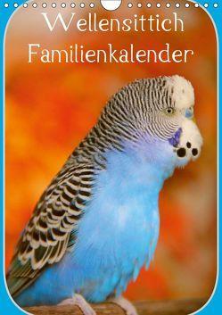 Wellensittich Familienkalender (Wandkalender 2019 DIN A4 hoch) von Bergmann,  Björn