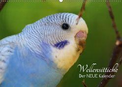 Wellensittiche – der NEUE Kalender (Wandkalender 2018 DIN A2 quer) von Bergmann,  Björn