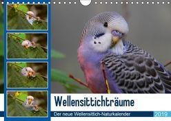 Wellensittichträume – Der neue Wellensittich-Naturkalender (Wandkalender 2019 DIN A4 quer) von Bergmann,  Björn