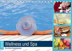 Wellness und Spa 2019. Sinnliche Impressionen (Tischkalender 2019 DIN A5 quer) von Lehmann (Hrsg.),  Steffani