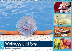 Wellness und Spa 2019. Sinnliche Impressionen (Wandkalender 2019 DIN A3 quer) von Lehmann (Hrsg.),  Steffani