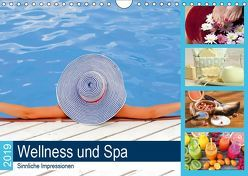 Wellness und Spa 2019. Sinnliche Impressionen (Wandkalender 2019 DIN A4 quer) von Lehmann (Hrsg.),  Steffani