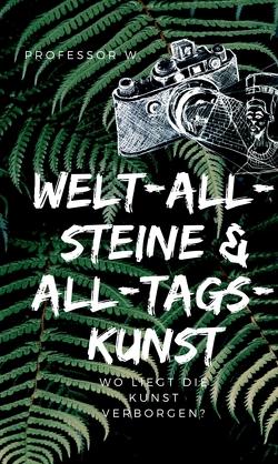 WELT-ALL-STEINE & ALL-TAGS-KUNST von W.,  Professor