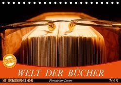 Welt der Bücher (Tischkalender 2019 DIN A5 quer) von Jäger,  Anette/Thomas