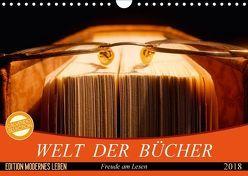 Welt der Bücher (Wandkalender 2018 DIN A4 quer) von Jäger,  Anette/Thomas