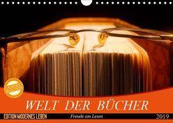 Welt der Bücher (Wandkalender 2019 DIN A4 quer) von Jäger,  Anette/Thomas