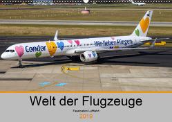Welt der Flugzeuge – Faszination Luftfahrt 2019 (Wandkalender 2019 DIN A2 quer) von Liongamer1