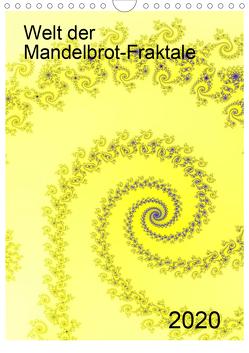 Welt der Mandelbrot-Fraktale (Wandkalender 2020 DIN A4 hoch) von Schulz,  Olaf