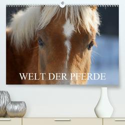 Welt der Pferde (Premium, hochwertiger DIN A2 Wandkalender 2021, Kunstdruck in Hochglanz) von Starick,  Sigrid