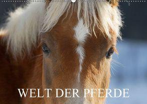 Welt der Pferde (Wandkalender 2018 DIN A2 quer) von Starick,  Sigrid