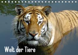 Welt der Tiere (Tischkalender 2021 DIN A5 quer) von Riedel,  Tanja