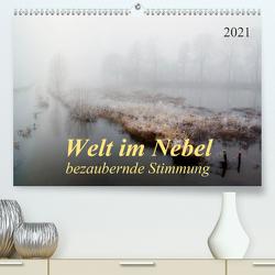 Welt im Nebel – bezaubernde Stimmung (Premium, hochwertiger DIN A2 Wandkalender 2021, Kunstdruck in Hochglanz) von Roder,  Peter